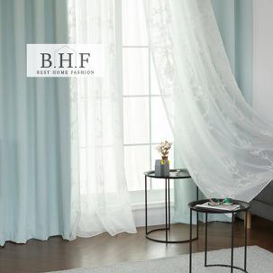 BHF 플뢰르 침실 암막레이스커튼 4장