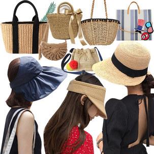 [55특가] 여름 가방 모자 특별가