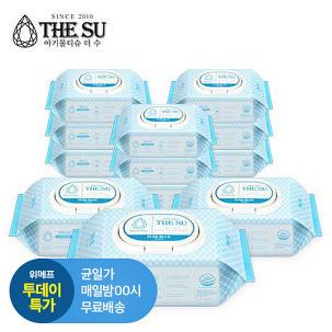 [투데이특가] 더수 블루 물티슈 10+2