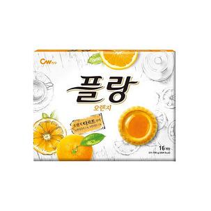 청우 플랑 오렌지 160g X 8개