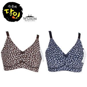 [여성속옷] 꽃무늬 브라팬티 mbr1168