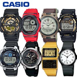 카시오손목시계 스포츠전자 군인방수