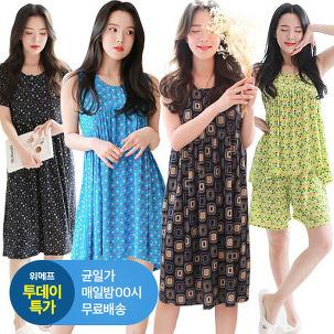 [투데이특가] 쿨 원피스/투피스 잠옷