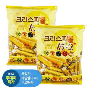 [투데이특가] 크리스피롤 650g 2봉