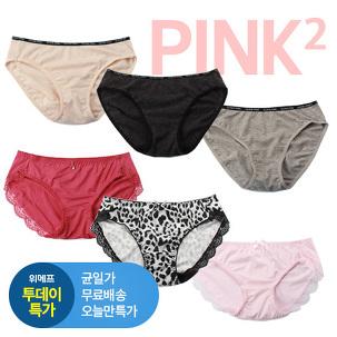 [투데이특가] PINK2 누드코튼팬티19