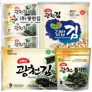 2번구운★소문난 광천김 김밥김 10봉