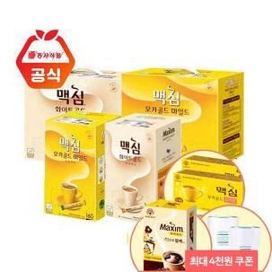 [최대4천원] 맥심 커피 320T/400T