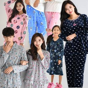 [미리겨울준비] 포근긴팔+수면잠옷