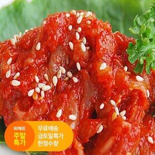 [주말특가] 참식품 가리비젓 1kg