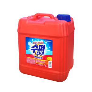 수퍼타이 액체세제 14L