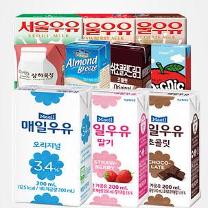 [무료배송] 매일 멸균우유 48팩
