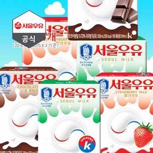 서울우유 멸균우유200ml X 48팩 무배
