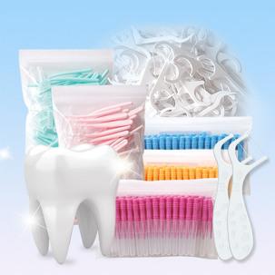 [생필품데이] 치간칫솔I형 50개/치실