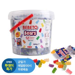 [투데이특가] 베베토 곰 젤리 980g