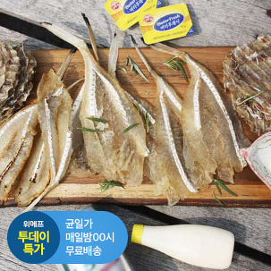 [투데이특가] 순살 아귀 꼬리포 30장