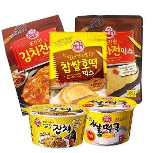 오뚜기 김치전/감자전/호떡믹스 세트