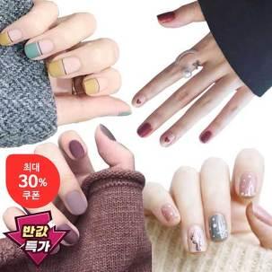[반값특가] 젤네일 스티커 495원~