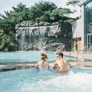 [제주] 위호텔+3인조식+수영장사우나