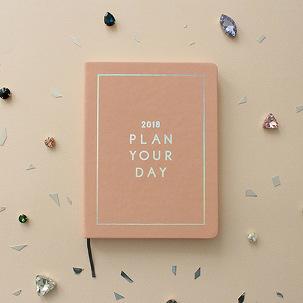 [날짜형다이어리]2018 PLAN YOUR DAY