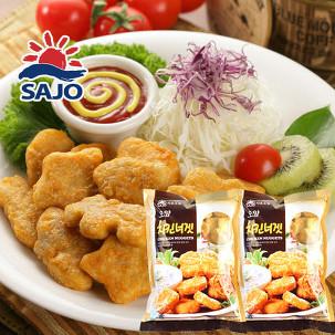 [무료배송] 사조 치킨너겟1kg+1kg