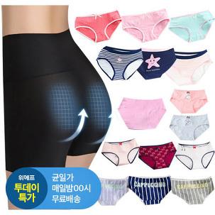 [투데이특가] 1+1 여성 면 팬티 외