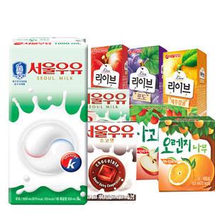 [원더배송] 서울우유 멸균우유 1LX10