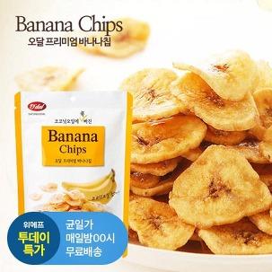 [투데이특가] 오달바나나칩 57g 10봉