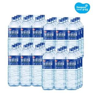 [게릴라특가] 동원샘물 생수 2L 36팩