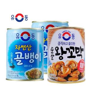 [원더배송] 유동 골뱅이4캔 +꼬막2캔