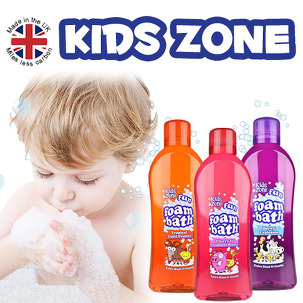 키즈존 거품입욕제/유아거품목욕