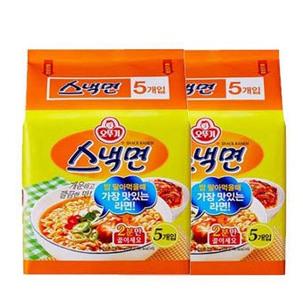 [원더배송] 오뚜기 스낵면 40봉