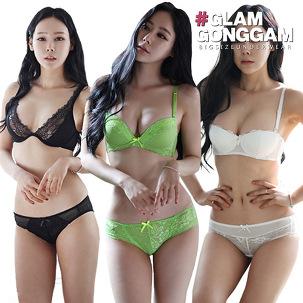 [투데이특가] 글램공감속옷세트 균일