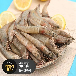 [게릴라특가] 국내산 신안 새우 1kg