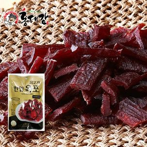 [반값특가-빨강] 소고기육포+25%쿠폰