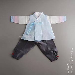 [아동한복] 리모 Track-19 남아한복
