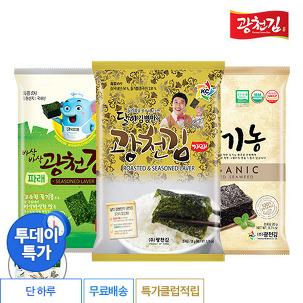 [투데이특가] 광천김 전장김 10봉