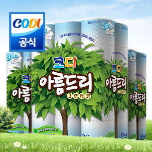[무료배송] 코디 아름드리 화장지