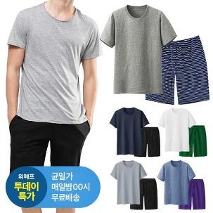 [투데이특가] 반팔/반바지 1+1 ~4XL