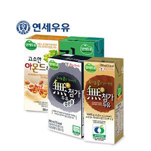 [원더배송] 연세 무첨가두유 24팩