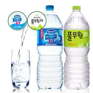 [게릴라특가] 풀무원 생수 2L x 18병