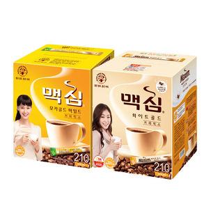 [원더배송] 맥심 커피믹스 210개입