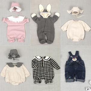 백일선물 아기옷 방한우주복 돌선물