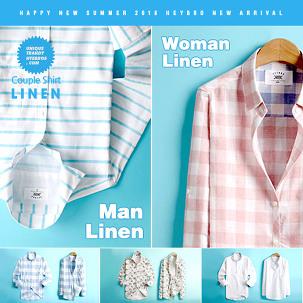 [봄신상패션] 남녀 봄신상 셔츠