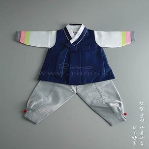 [아동한복] 리모 Track-23 남아한복
