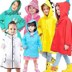 [슈퍼렉스] 아동 비옷 우비 레인코트