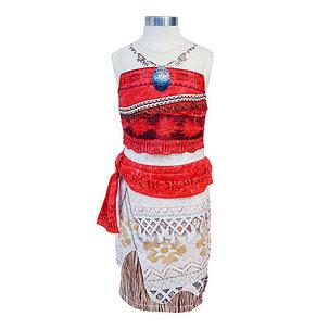 모아나 드레스 + 악세사리