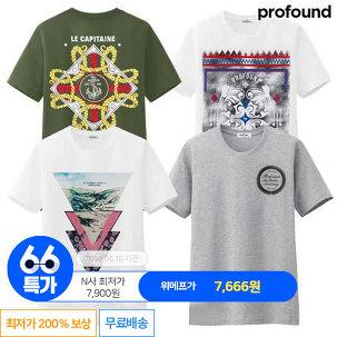 [66특가] M~2XL 남여공용 반팔