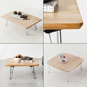 원목 접이식 다용도테이블/밥상/책상