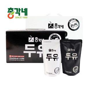 [무료배송] 총각네 검은콩 두유 40팩