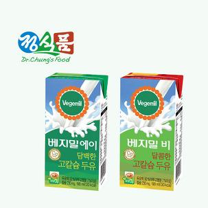 베지밀 고칼슘두유A/B 64팩
